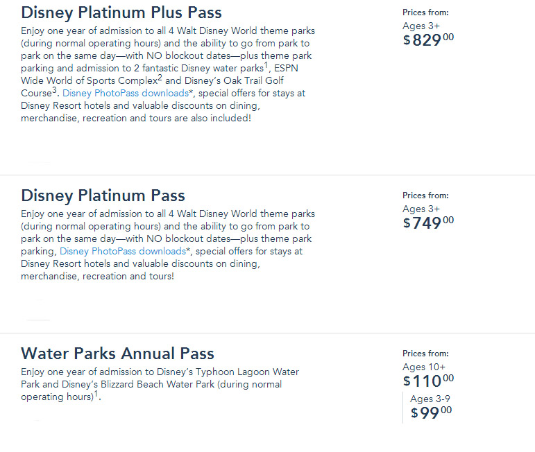 Disney increases prices for Annual Passports - Park Journey
