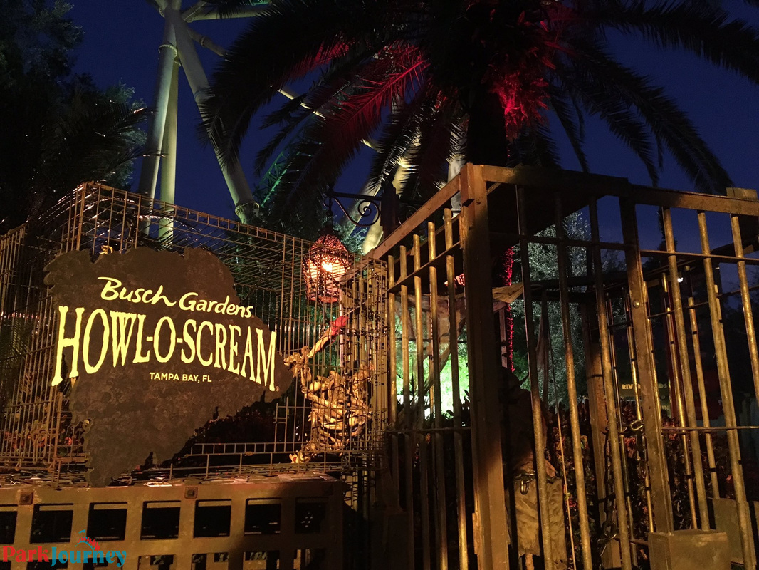 Opening night at Howl-O-Scream at Busch Gardens Tampa